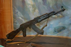 Kalashnikow AK-47.